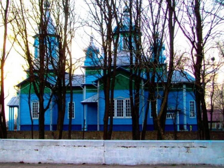 Православний храм у Деревку. Сучасний вигляд