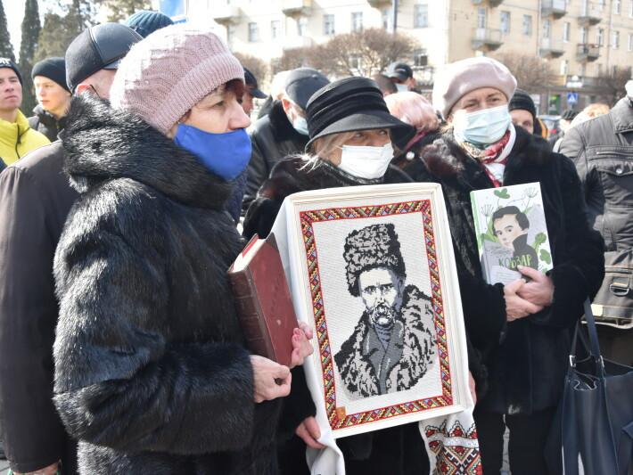 У Луцьку вшанували Тараса Шевченка