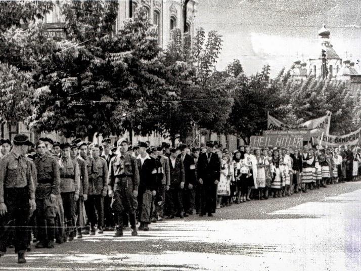 Рівне часів німецької окупації (із архіву бургомістра Полікарпа Бульби, 1941 р.)