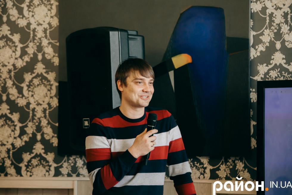 Дизайнер Дмитро Авраменко