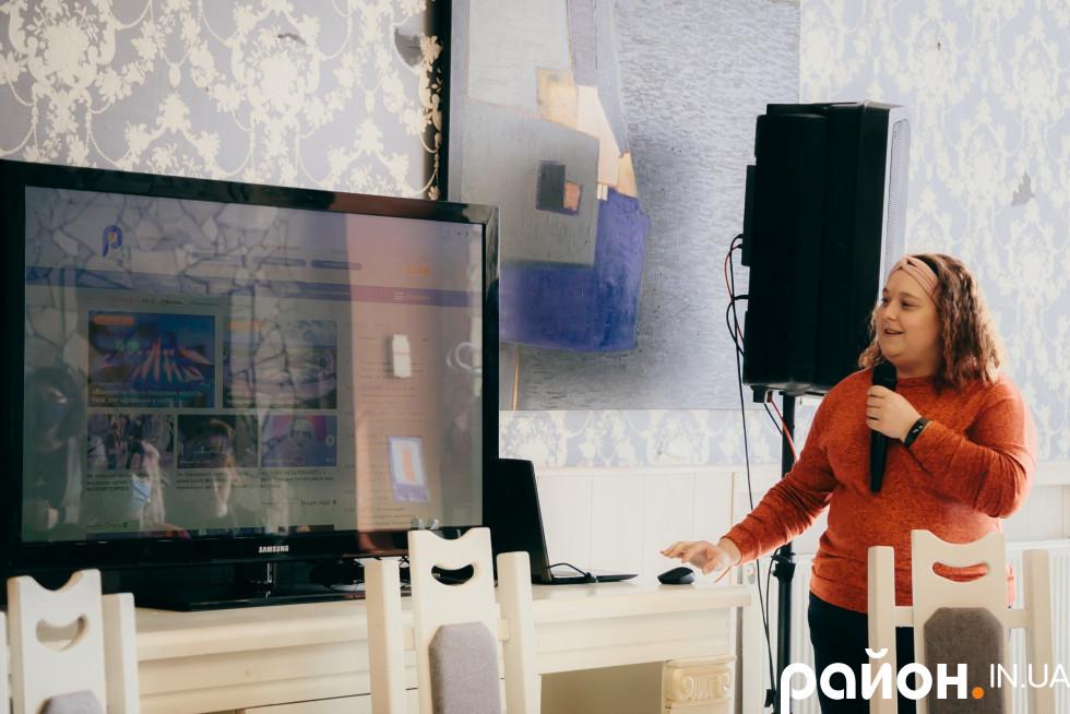 Наталія Голодюк презентує новий сайт