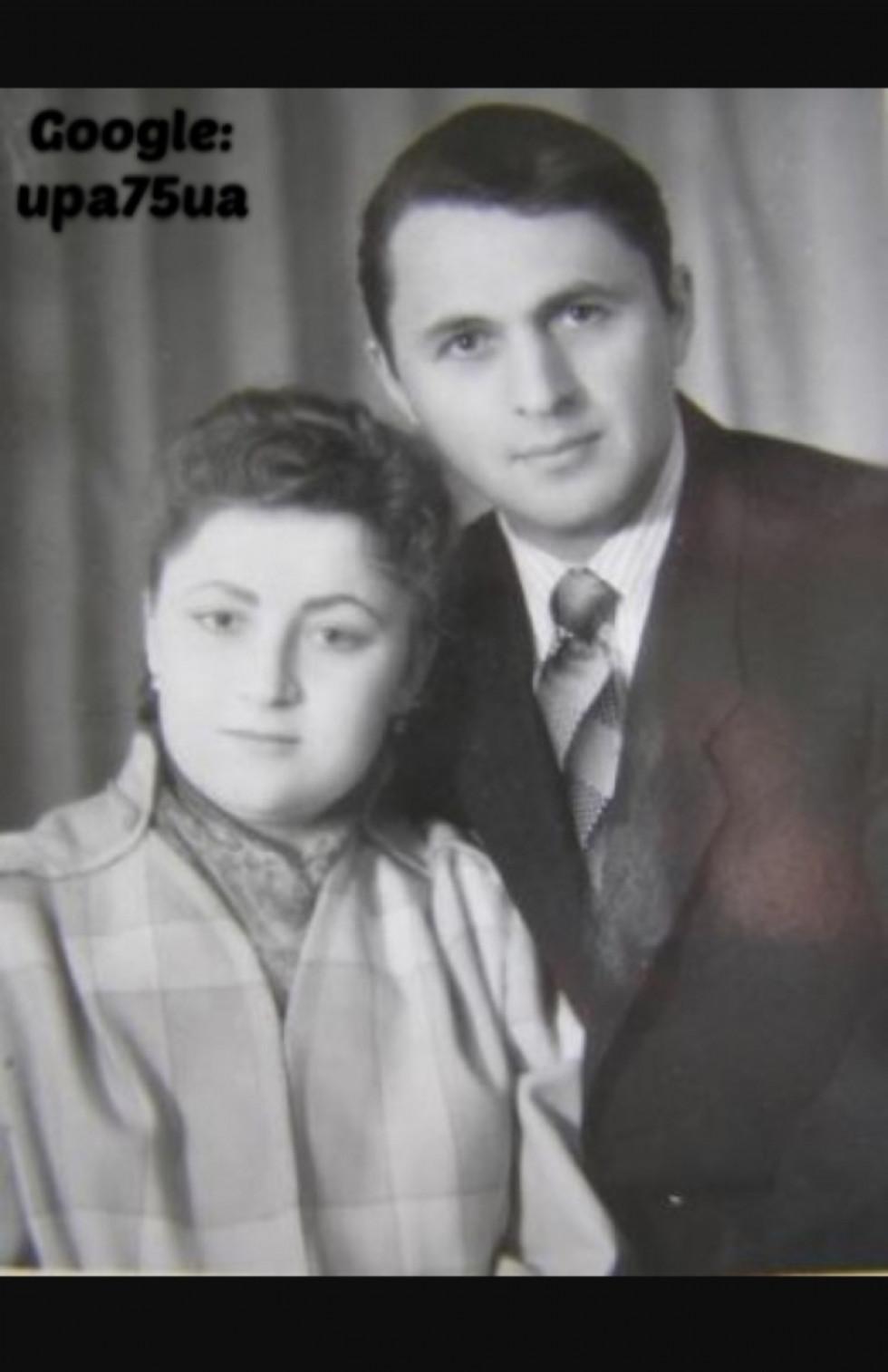 Олексій Брись із дружиною
