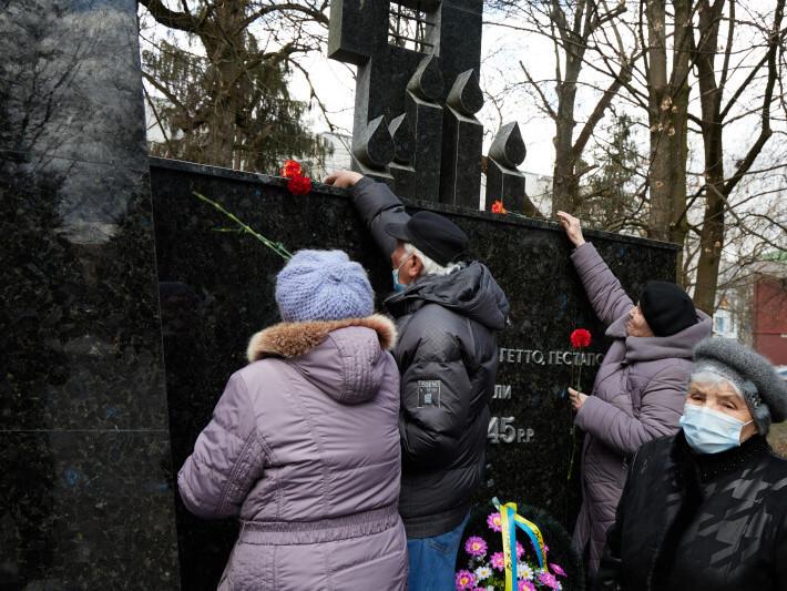У Луцьку вшанували пам'ять жертв нацистських концтаборів