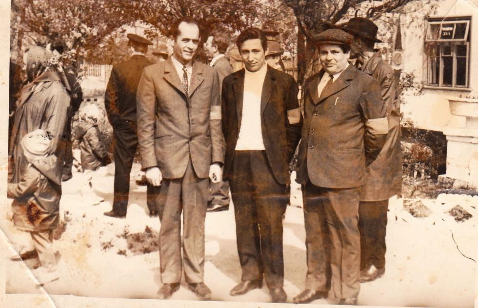 Шацькі дружинники - працівники сільгосптехніки, 1960-ті роки