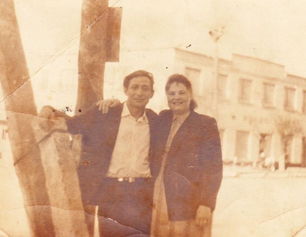 Центральний магазин Шацька,1960-ті роки