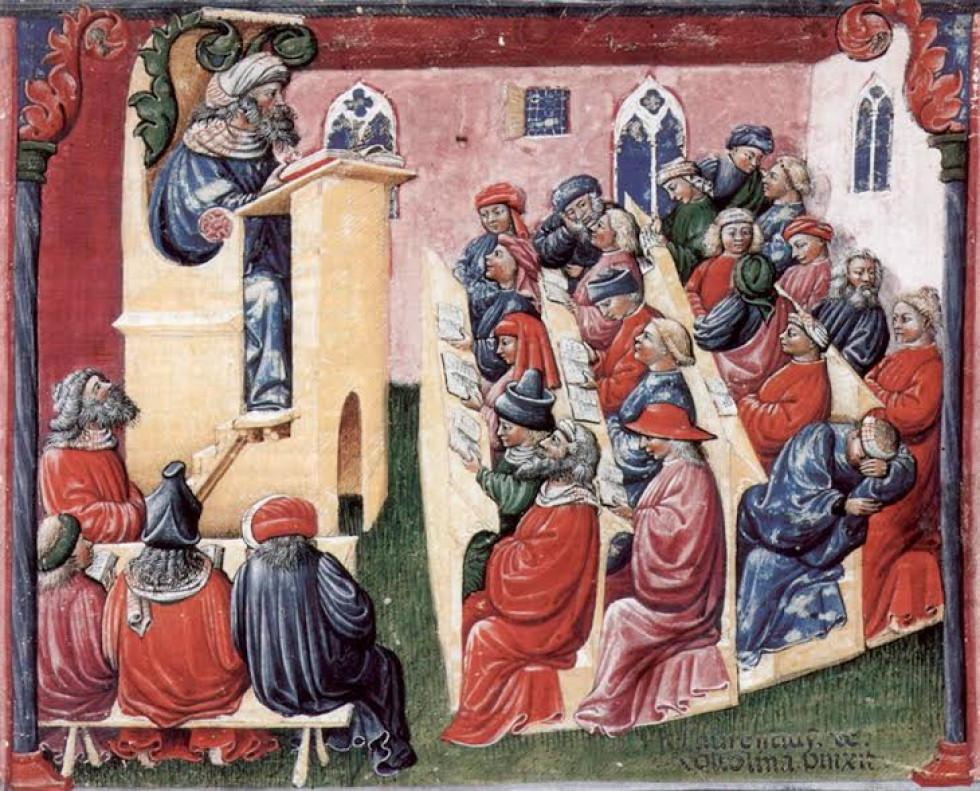 Студенти в середньовіччі