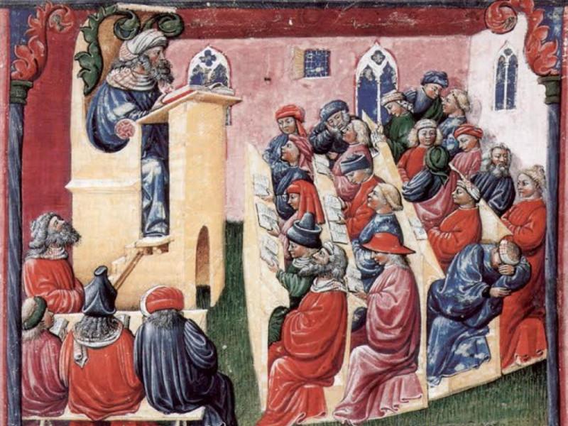Середньовічні студенти