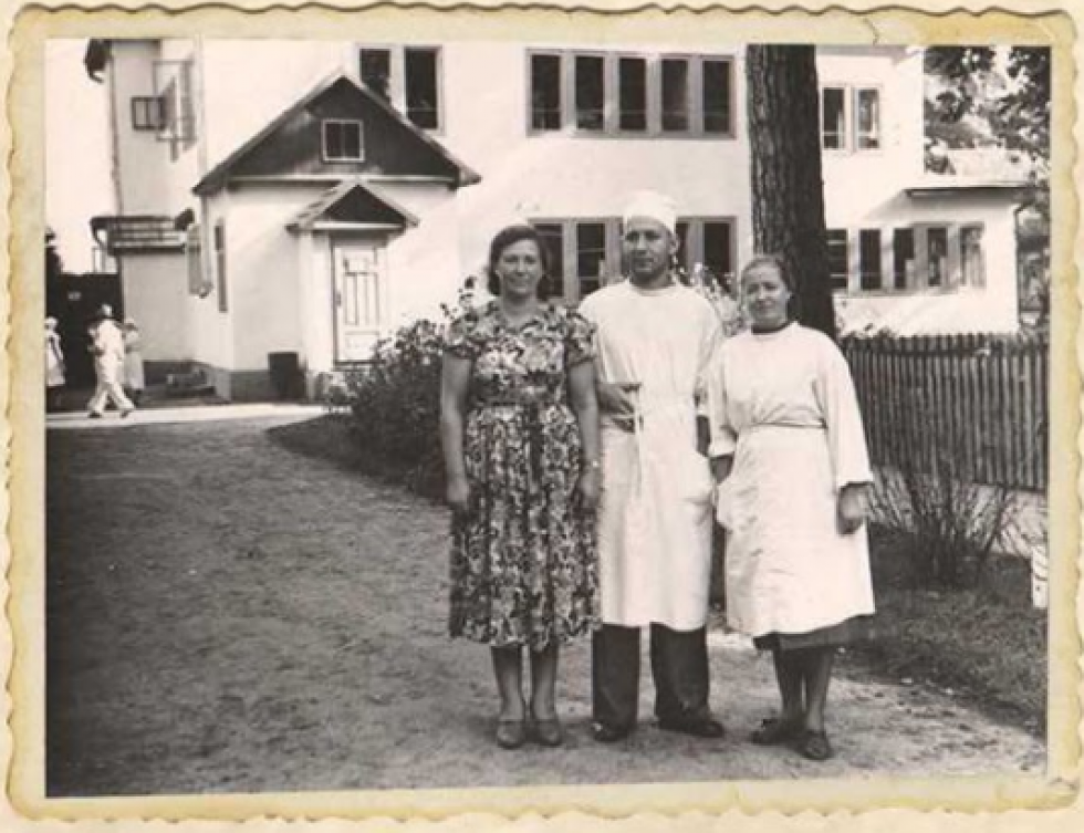 Інфекційне відділення районної лікарні. 1950-ті роки