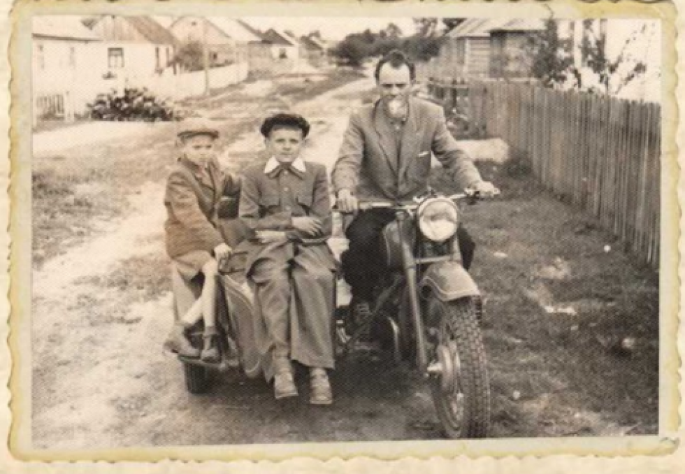 Вулиця Івана Франка. 1953 рік