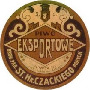 Етикетка порицького пива