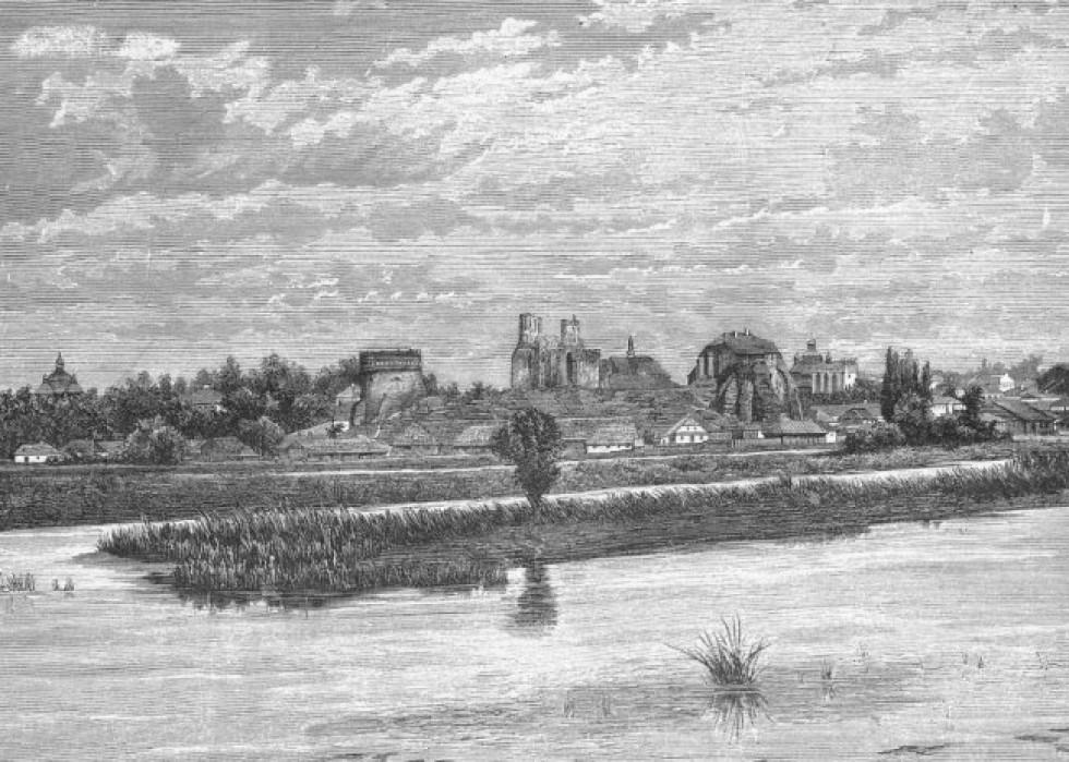 Панорама міста Острог