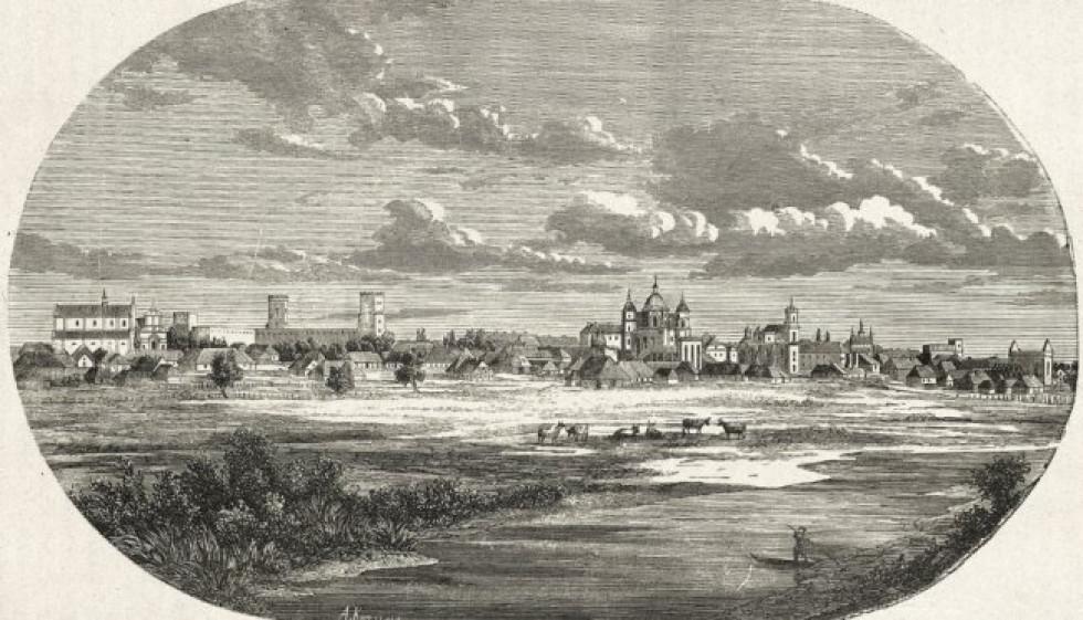 Панорама на місто Луцьк