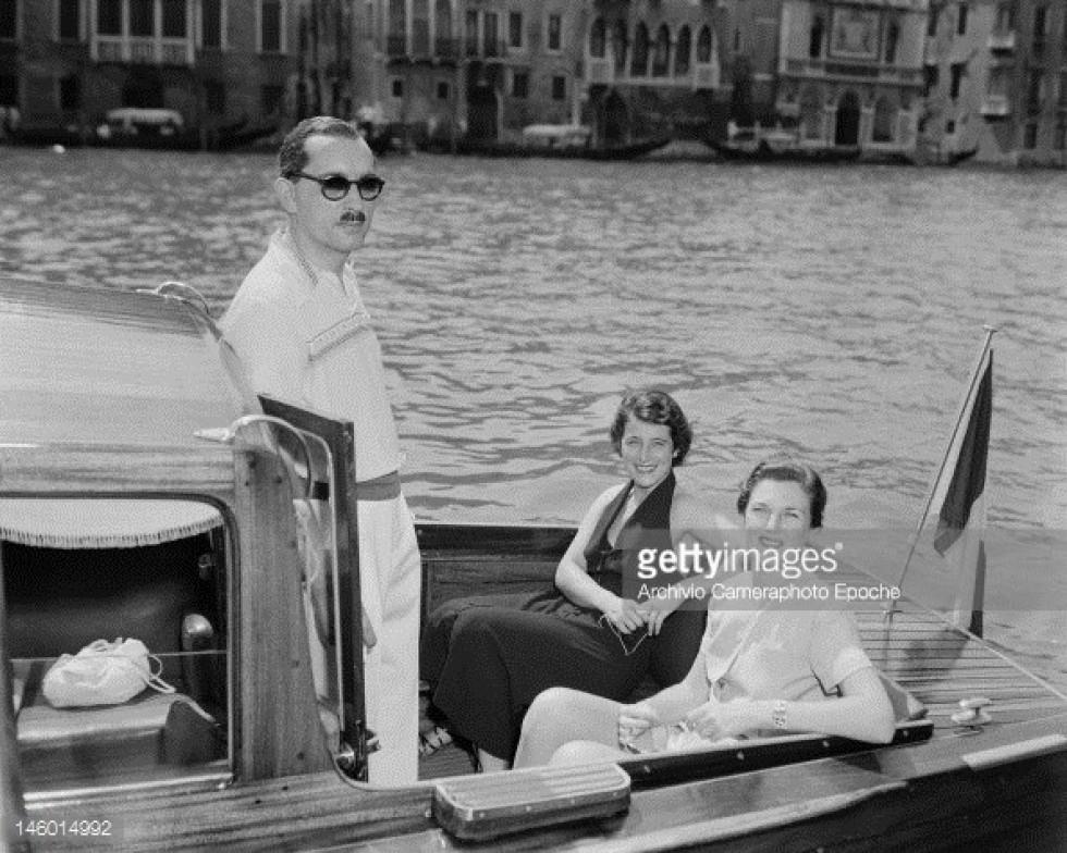 Станіслав Радзивілл на відпочинку в Венеції