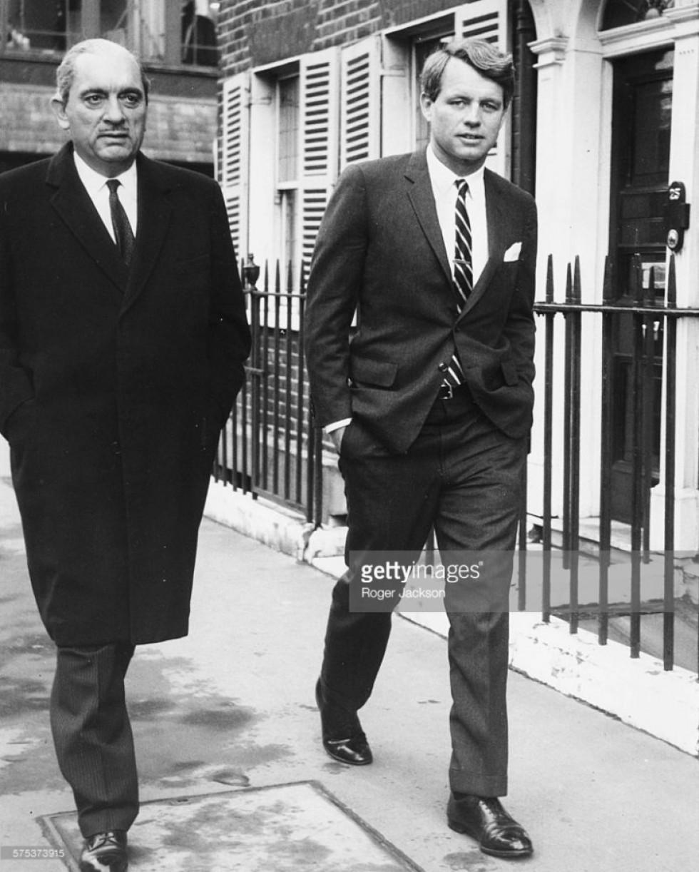 Станіслав Радзивілл разом із сенатором Робертом Кеннеді, 1967