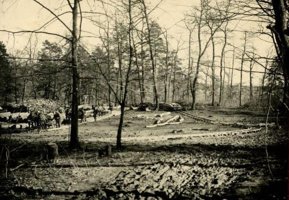 Деревообробне виробництво провадили австрійські війська