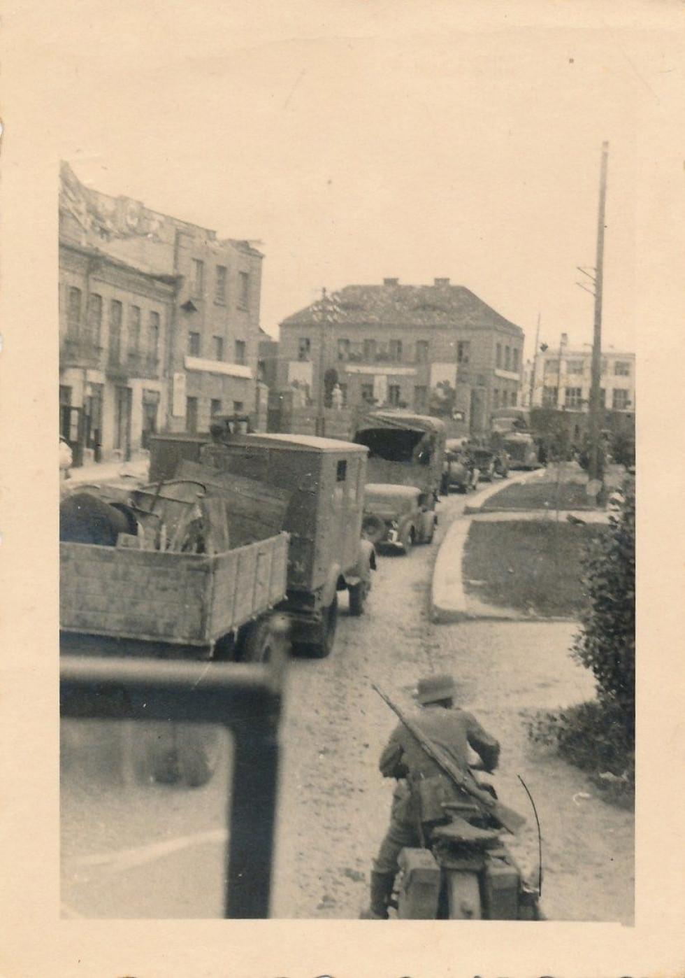 Німці на Винниченка