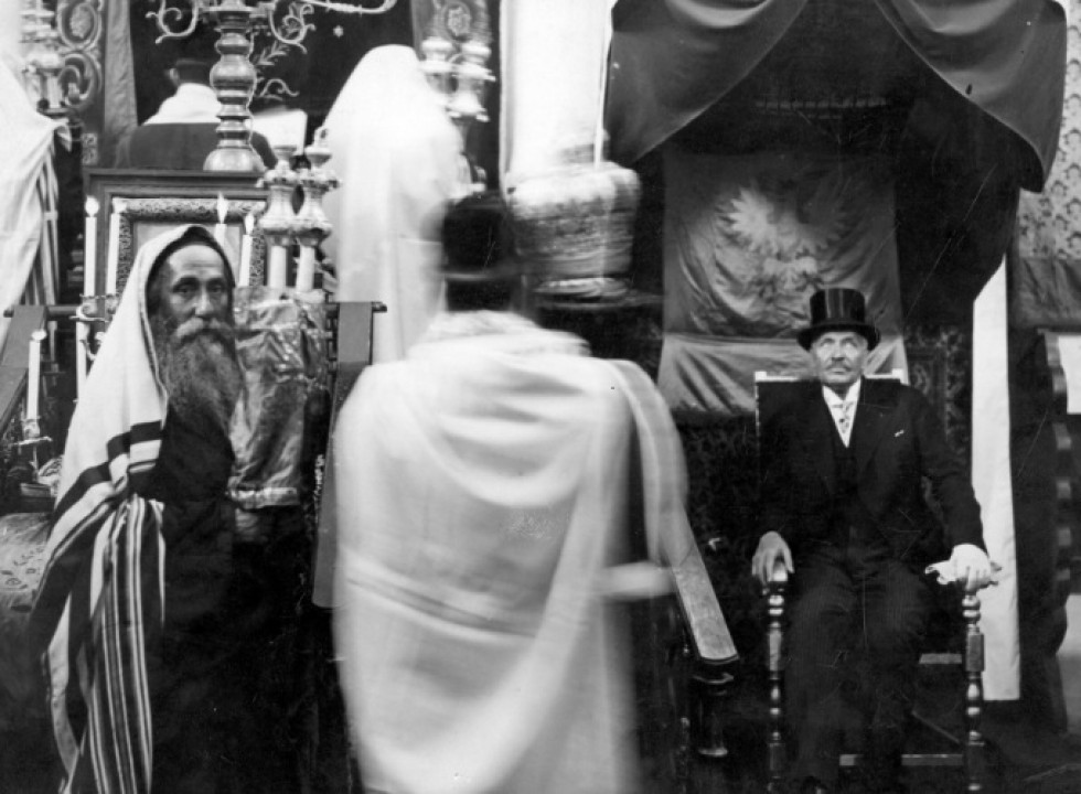 Ігнацій Мосьціцький відвідав він найбільші храми Луцька