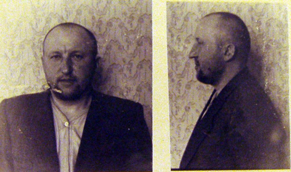 Степан Коваль фото зі слідчої справи 1954 р