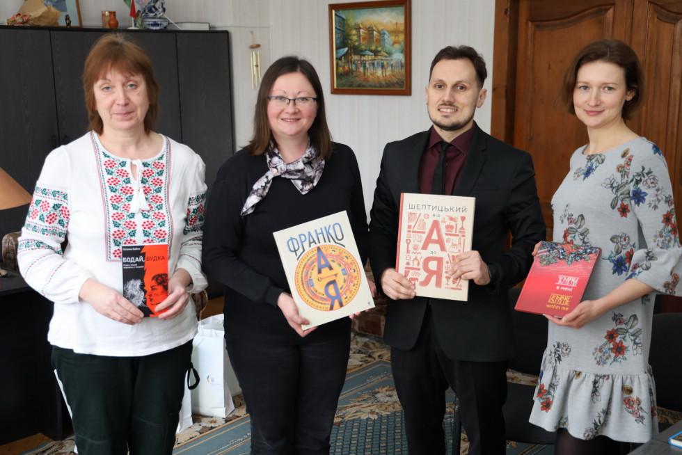 Презентація роману «Бодай Будка» в Мінській обласній бібліотеці