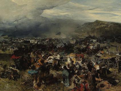 Картина Йозефа Брандта «Відбиття ясиру»