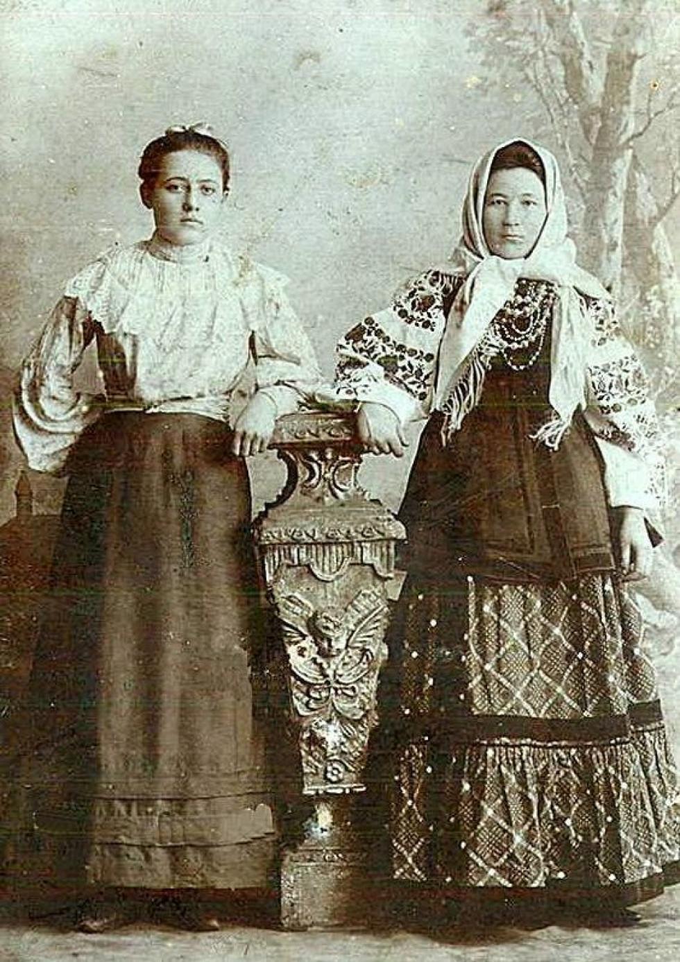 Мачуха з падчеркою. Юзівка (Донецьк) 1904