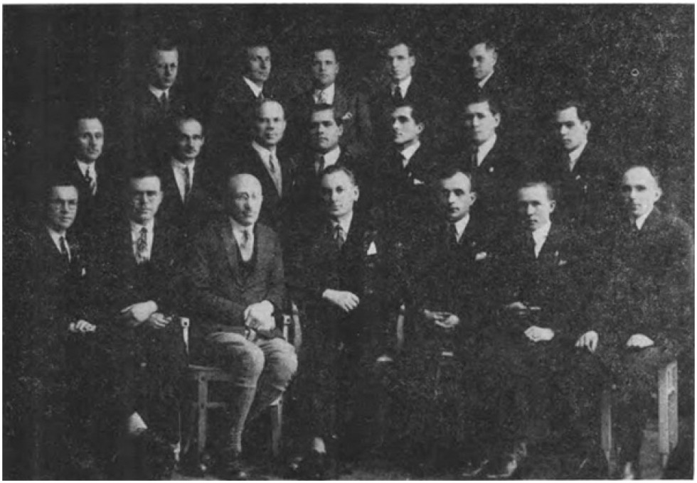 Випускники академії у Подєбрадах