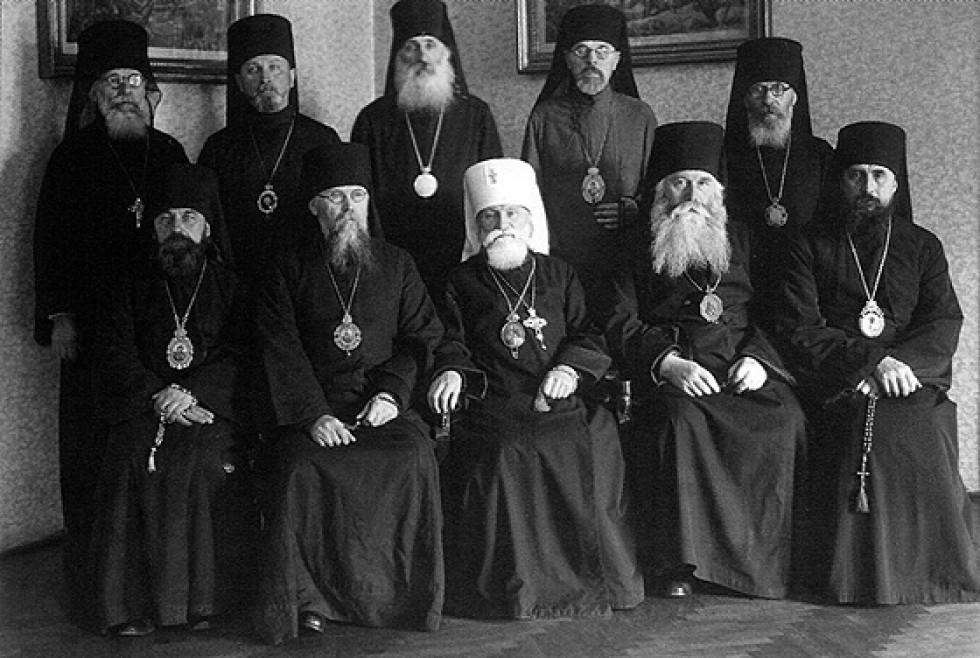 Єпископат УАПЦ. Варшава, 1944 р.