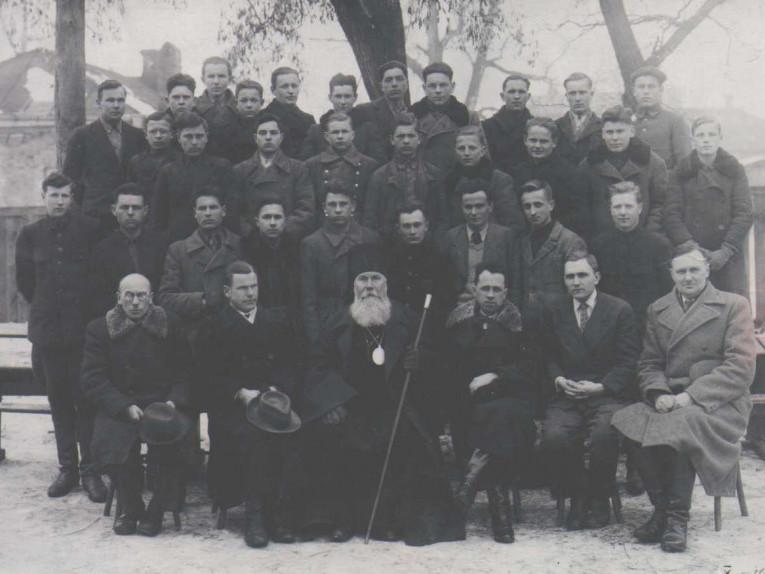 Архієпископ Ігор (Іван Губа) в центрі першого ряду