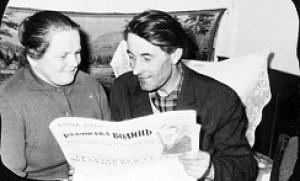 Павло Йосипович з дружиною Ганною Іванівною