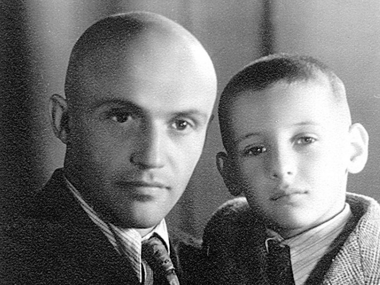 Михайло Сорока із сином